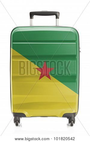 Suitcase With National Flag Series - French Guiana