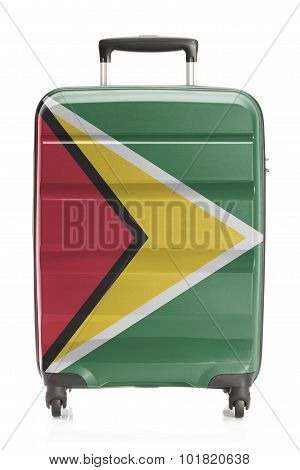 Suitcase With National Flag Series - Guyana