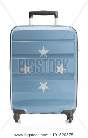 Suitcase With National Flag Series - Micronesia