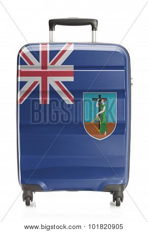 Suitcase With National Flag Series - Montserrat