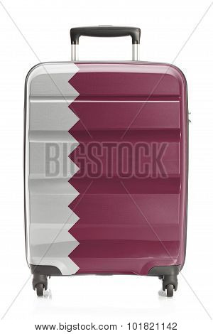 Suitcase With National Flag Series - Qatar