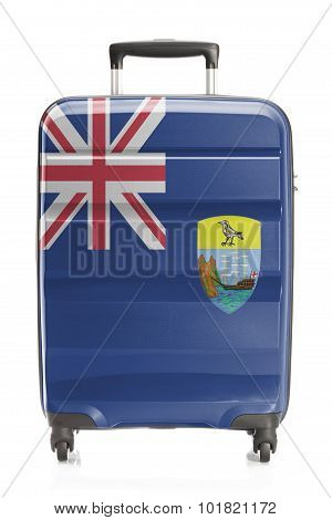 Suitcase With National Flag Series - Saint Helena