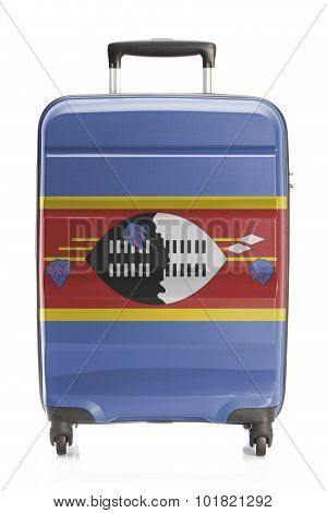 Suitcase With National Flag Series - Swaziland