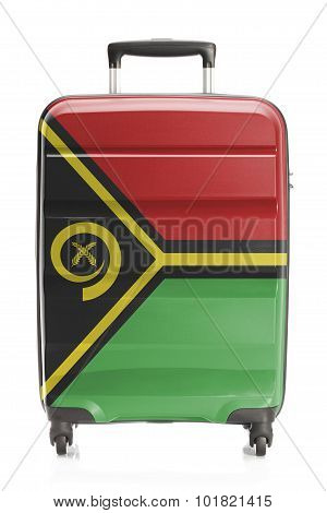 Suitcase With National Flag Series - Vanuatu