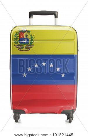 Suitcase With National Flag Series - Venezuela