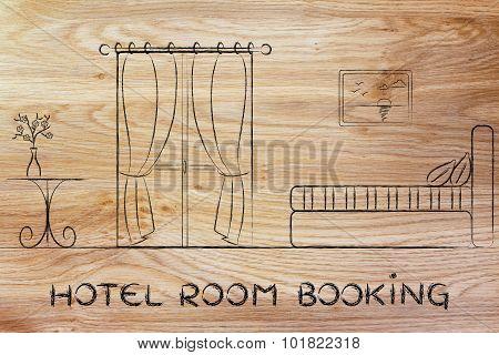 Hotel Booking, Design Of Room Interior