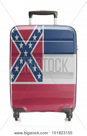 Suitcase With Us State Flag Series - Mississippi