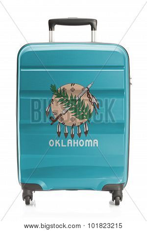 Suitcase With Us State Flag Series - Oklahoma