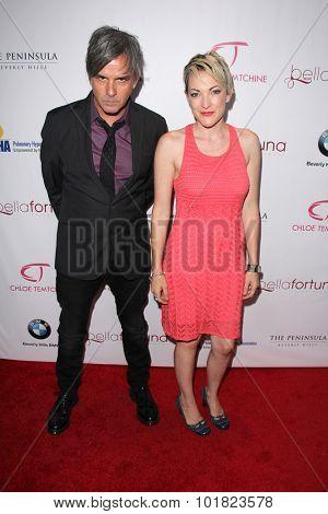 LOS ANGELES - SEP 15:  Greg Camp, Gina Briganti Camp at the