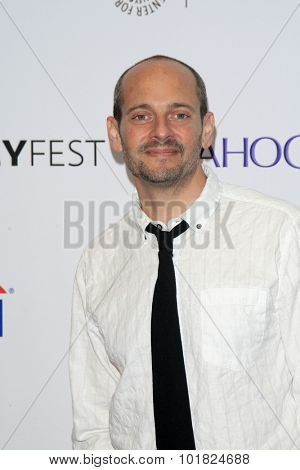 LOS ANGELES - SEP 12:  Jonathan Slavin at the PaleyFest 2015 Fall TV Preview - ABC at the Paley Center For Media on September 12, 2015 in Beverly Hills, CA