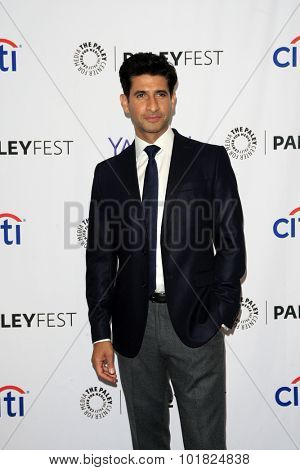 LOS ANGELES - SEP 12:  Raza Jaffrey at the PaleyFest 2015 Fall TV Preview - CBS Code Black at the Paley Center For Media on September 12, 2015 in Beverly Hills, CA