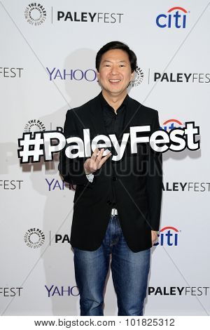 LOS ANGELES - SEP 12:  Ken Jeong at the PaleyFest 2015 Fall TV Preview - ABC at the Paley Center For Media on September 12, 2015 in Beverly Hills, CA