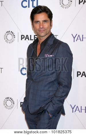 LOS ANGELES - SEP 15:  John Stamos at the PaleyFest 2015 Fall TV Preview - FOX at the Paley Center For Media on September 15, 2015 in Beverly Hills, CA