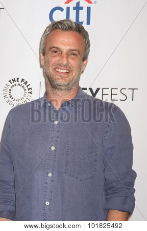 LOS ANGELES - SEP 15:  Andrew Mogel at the PaleyFest 2015 Fall TV Preview - FOX at the Paley Center For Media on September 15, 2015 in Beverly Hills, CA