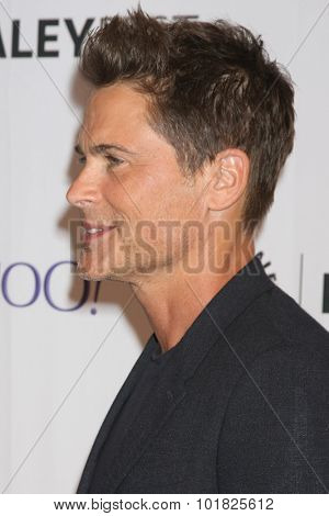 LOS ANGELES - SEP 15:  Rob Lowe at the PaleyFest 2015 Fall TV Preview - FOX at the Paley Center For Media on September 15, 2015 in Beverly Hills, CA