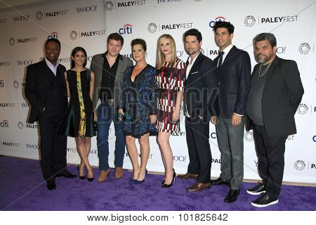 LOS ANGELES - SEP 12:  Code Black Cast at the PaleyFest 2015 Fall TV Preview - CBS Code Black at the Paley Center For Media on September 12, 2015 in Beverly Hills, CA