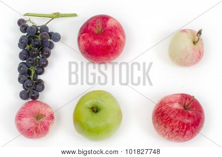 Grapes And Apples