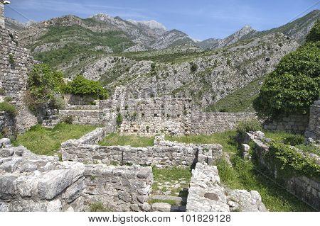Ruins Of Old Bar, Montenegro