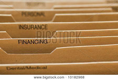Cardboard Filing System Financing