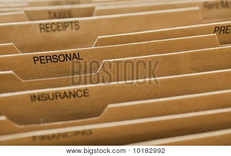 Cardboard Filing System Personal