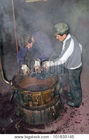 An old vapour distillery