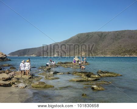 Tayrona National Park Bahia Concha Beach