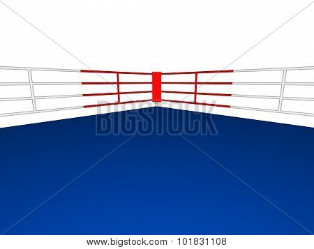 Corner Of A Boxing Ring