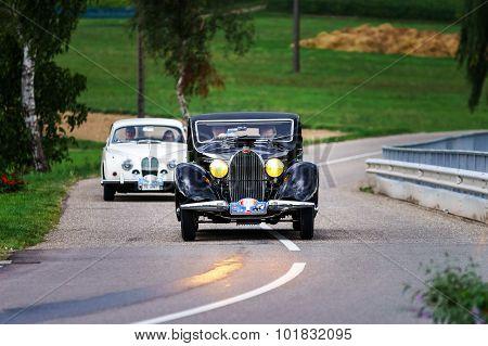 Editorial,12 September 2015: France: Xxxiieme Festival Enthousiastes Bugatti In Molsheim.