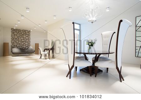 Exclusive Interior With Modern Furniture