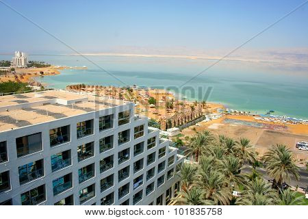 Dead sea hotels resort, Israel