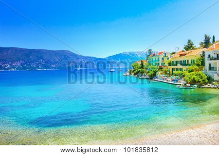 Fiskardo Village, Kefalonia Island, Greece