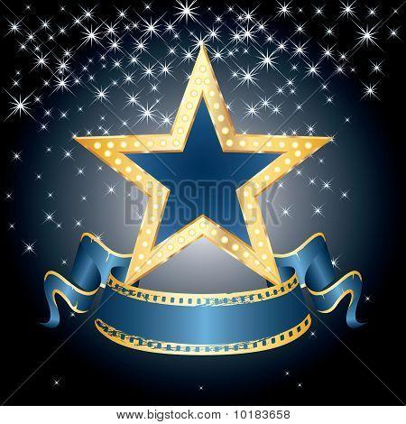 Blue Star Display