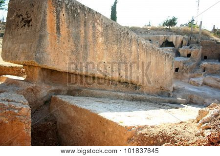 Largest stone in the world,Baalbek, Lebanon, Middle East