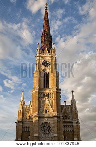 Name Of Mary Church In Novi Sad