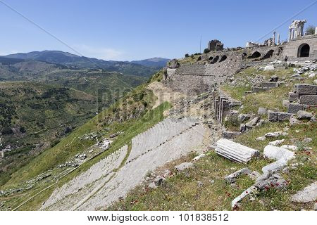 Ancient Theatre. Pergamum. Turkey.