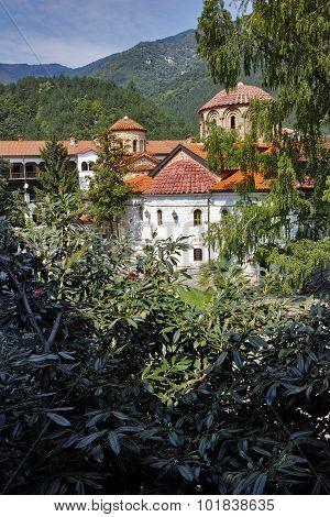 Panorama of  Medieval Bachkovo Monastery
