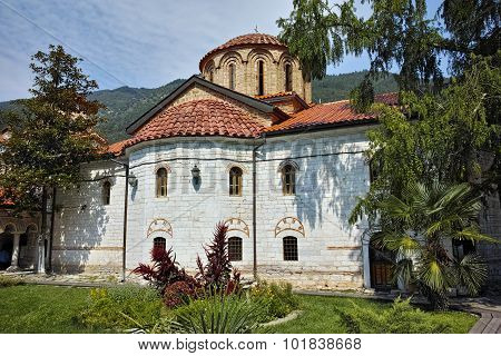 Main church in Medieval Bachkovo Monastery