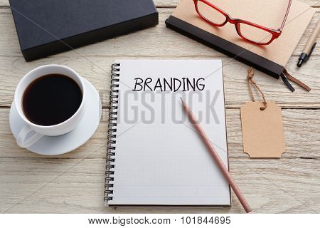 Branding Concept With Brand Tag