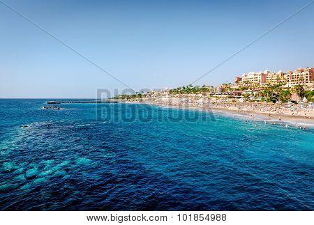 Atlantic Ocean And El Duque Beach