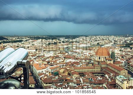 Storm Over The Florence City