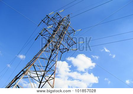 Tower High-voltage Lines