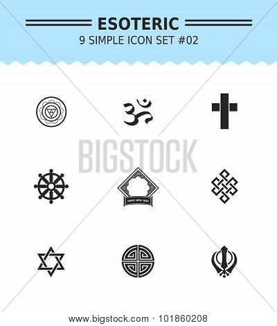 Esoteric icon set 2