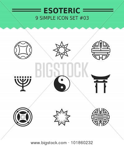 Esoteric icon set 3