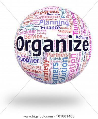 Organize Word Represents Wordclouds Structured And Manage