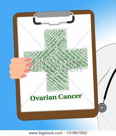 Ovarian Cancer Shows Ill Health And Solanum