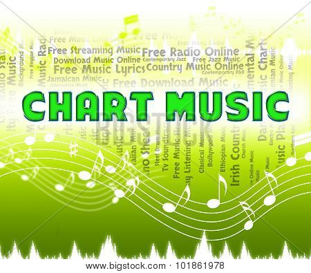 Chart Music Means Top Ten And Acoustic