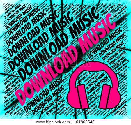 Download Music Indicates Sound Track And Data