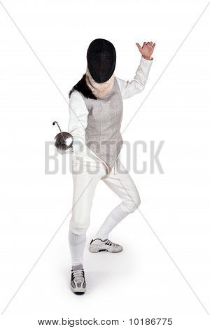 Female Fencer