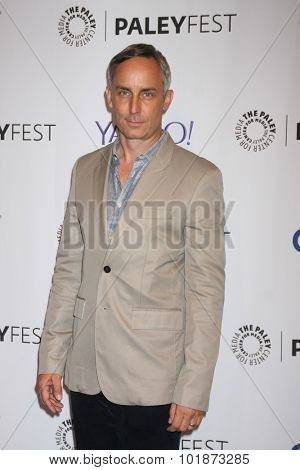 LOS ANGELES - SEP 16:  Wallace Langham at the PaleyFest 2015 Fall TV Preview -
