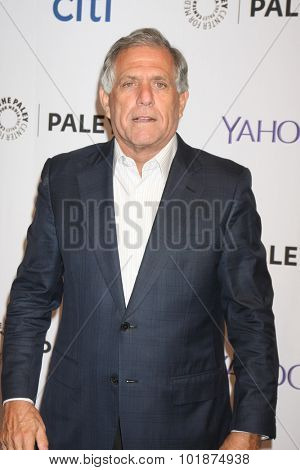 LOS ANGELES - SEP 16:  Les Moonves at the PaleyFest 2015 Fall TV Preview -